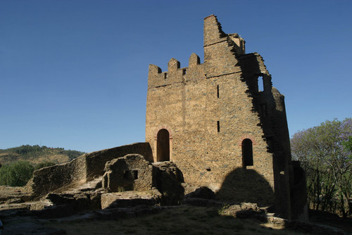 (Niall Crotty) - Axumite Architecture at Gondar -