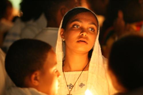 Ethiopian Easter ceremony
