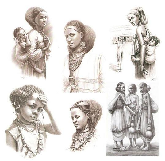 Ethiopian women By Addis Gebru