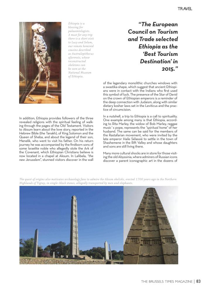 The Brussels Times - Ethiopia: Escape to the Land of Origins